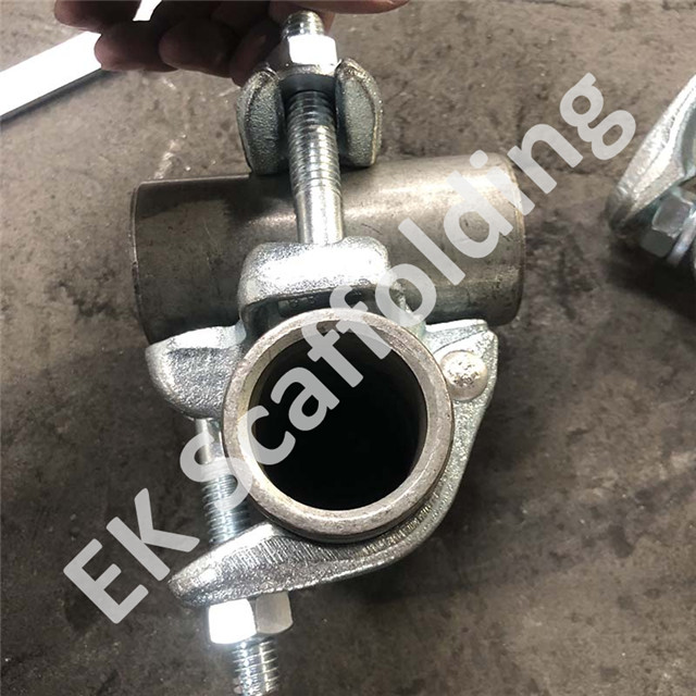 Drop Forged Scaffolding Double Fixed Rechtwinkler